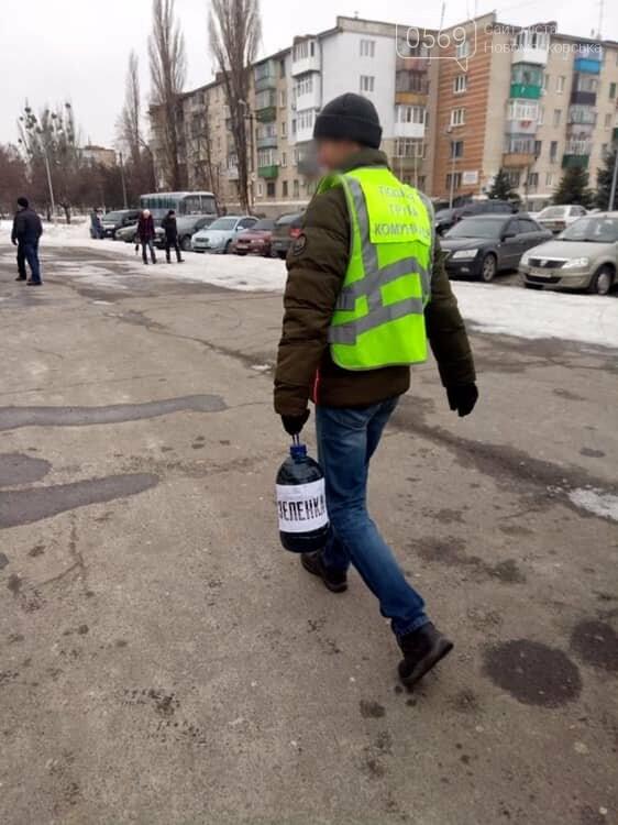 У Новомосковську хотіли облити зеленкою кандидата в Президенти, фото-1