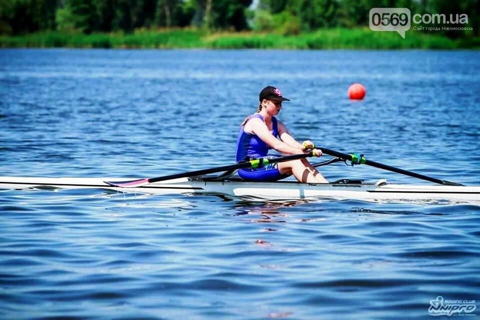 Новомосковські веслувальники здобули чемпіонські звання на позичених човнах, фото-1