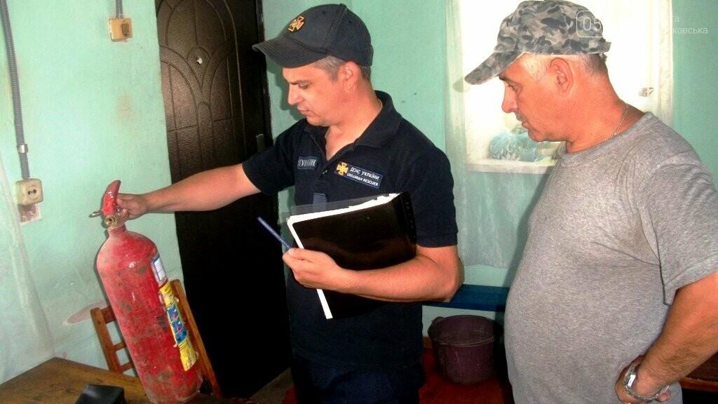Рятувальники Новомосковщини перевірили на пожежну безпеку агрофірми району, фото-2