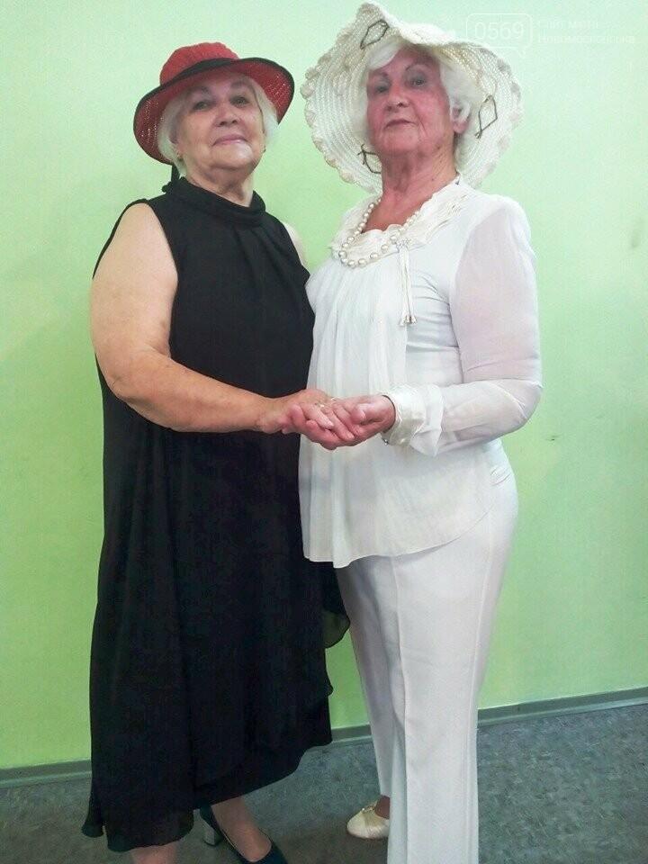 У Новомосковську пройшов показ моделей одягу для літніх людей, фото-2