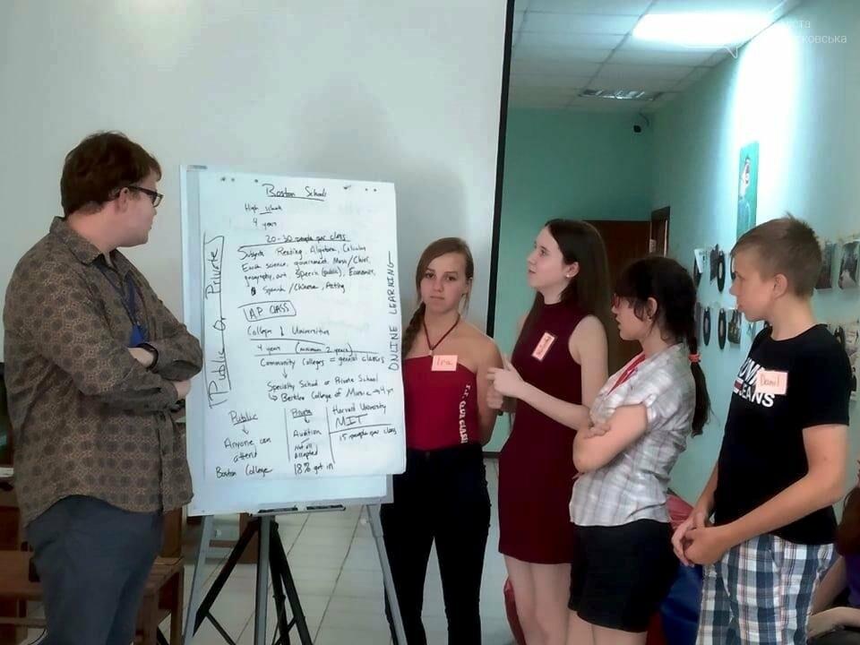 Новомосковців вчитимуть говорити англійською волонтери з Бостону, фото-1