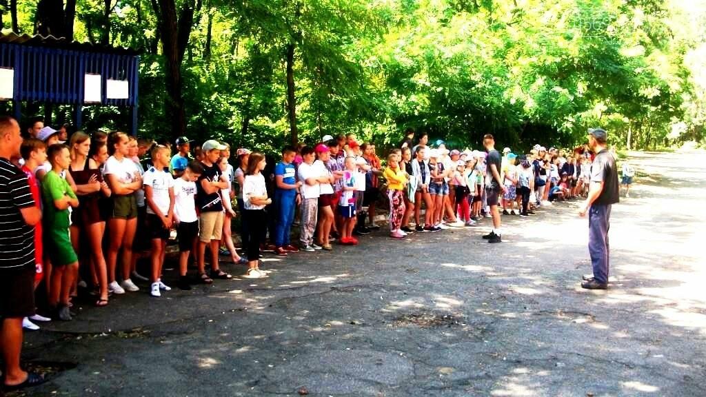 Новомосковські рятувальники поспілкувалися з фіналістами «Сокіл» («Джура»), фото-2