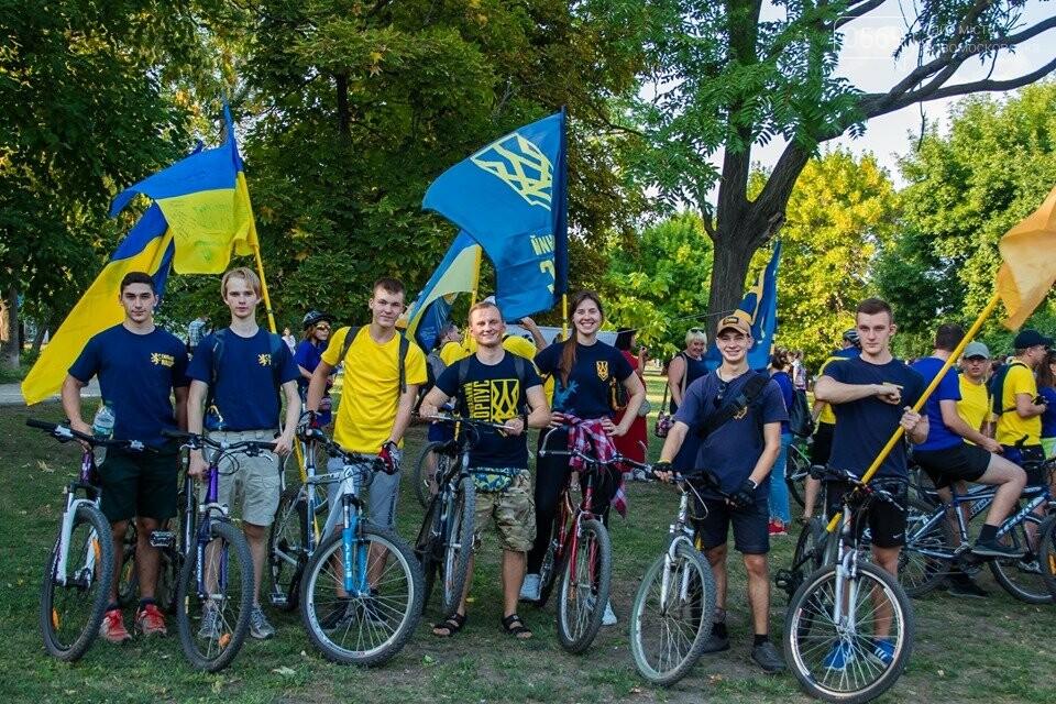 У Новомосковську Дню Незалежності присвятили велопробіг (Фото), фото-8