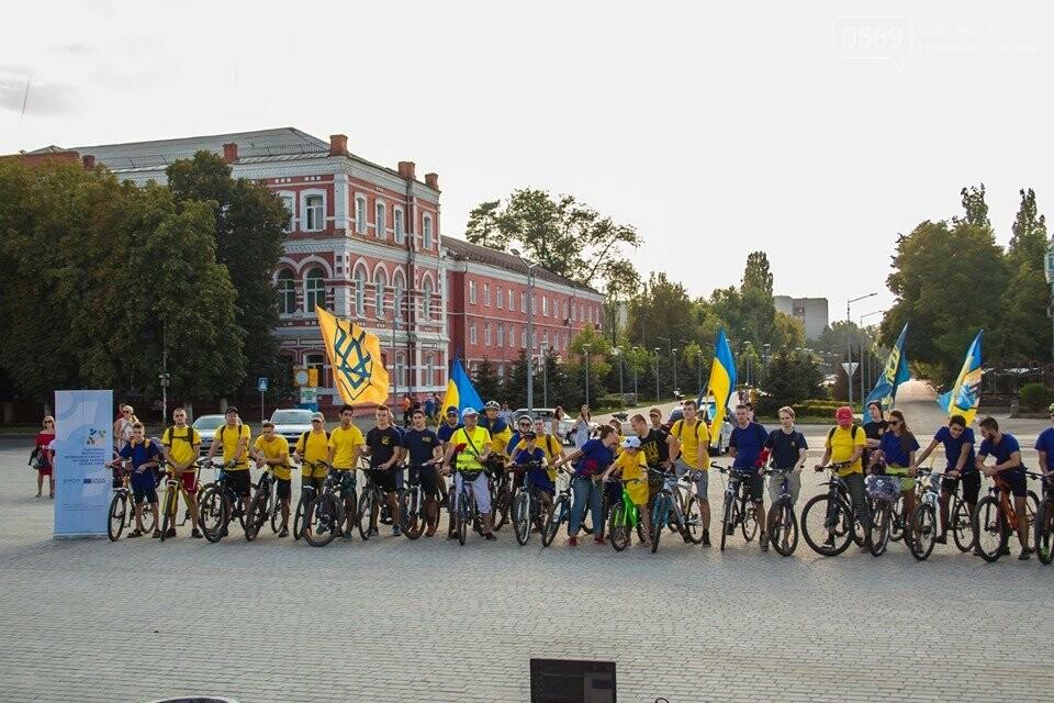 У Новомосковську Дню Незалежності присвятили велопробіг (Фото), фото-14