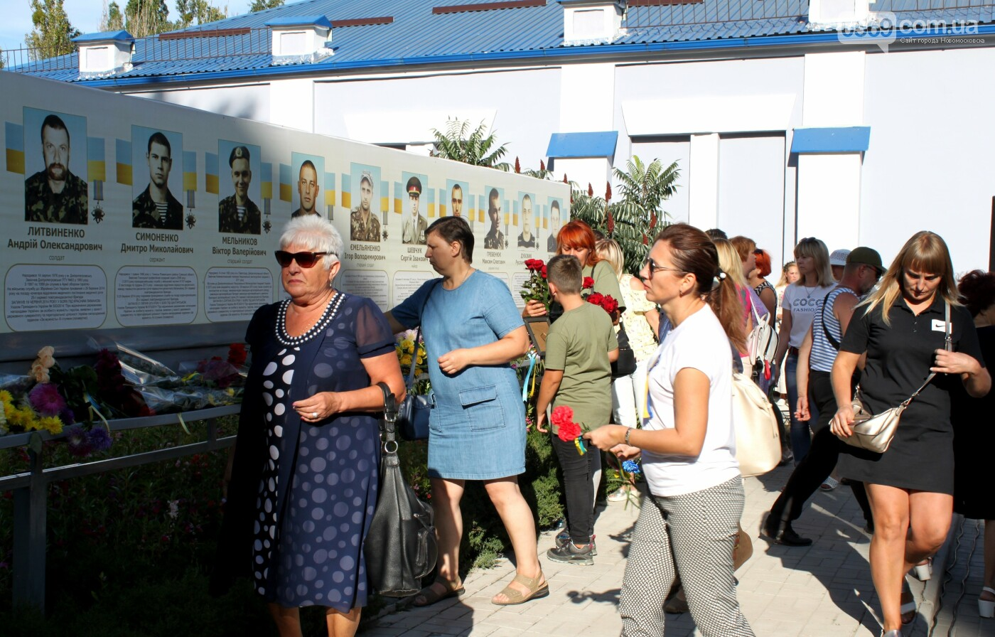 У Новомосковську вшанували пам'ять загиблих в АТО воїнів (Фото), фото-9