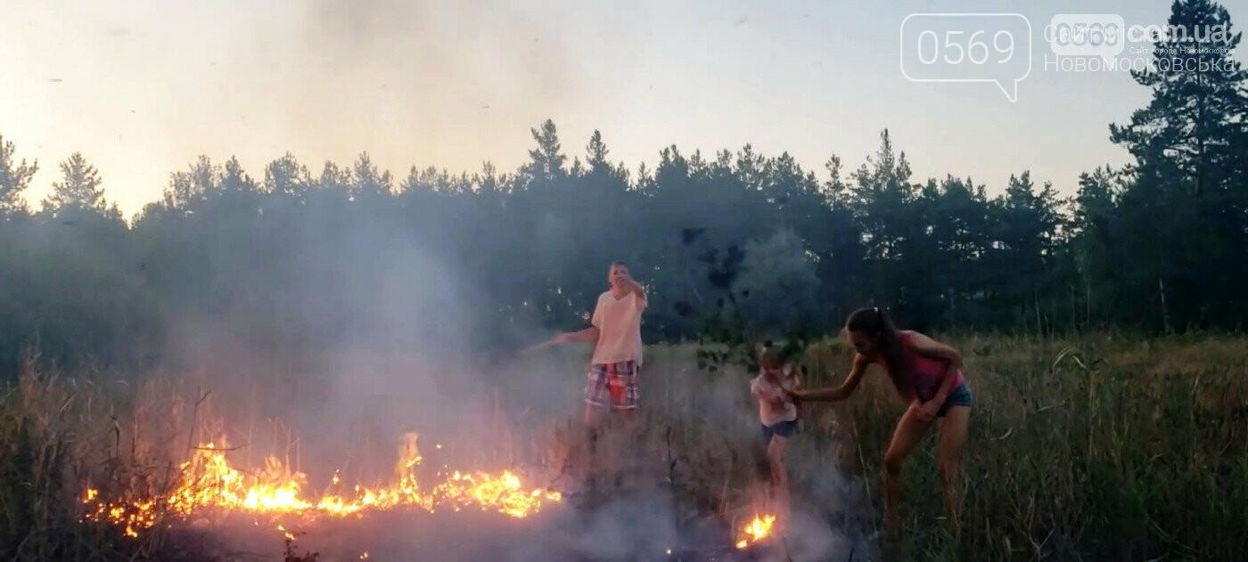 Дітям, які тушили пожежу в Піщанському лісі, вручили грамоти за мужність та подарунки, фото-4