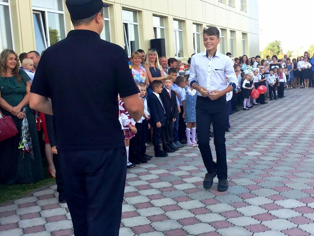 Дітям, які тушили пожежу в Піщанському лісі, вручили грамоти за мужність та подарунки, фото-2