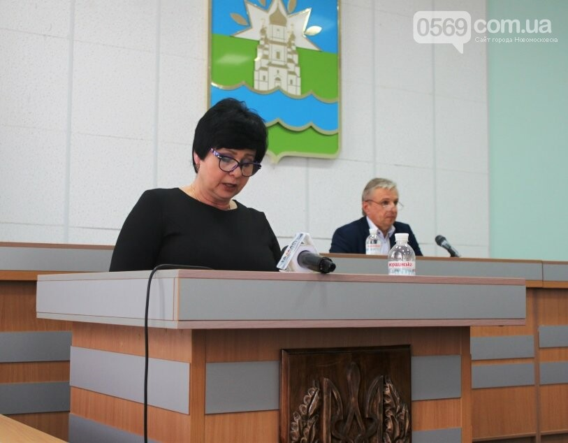 Обраний чотири роки тому мер Новомосковська приступив до виконання своїх обов'язків, фото-2