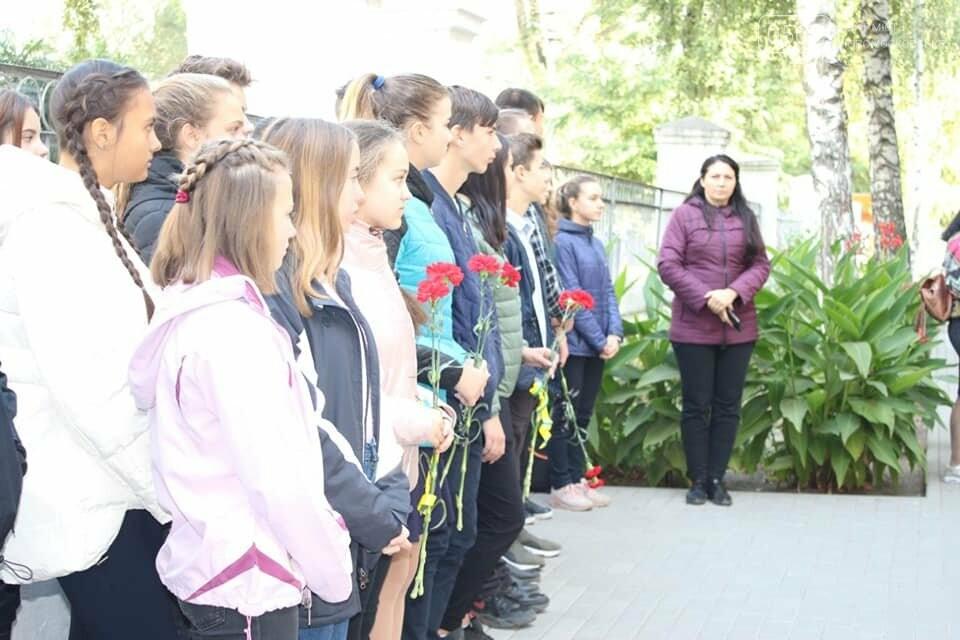 У Новомосковську вшанували загиблого під Іловайськом воїна, фото-1