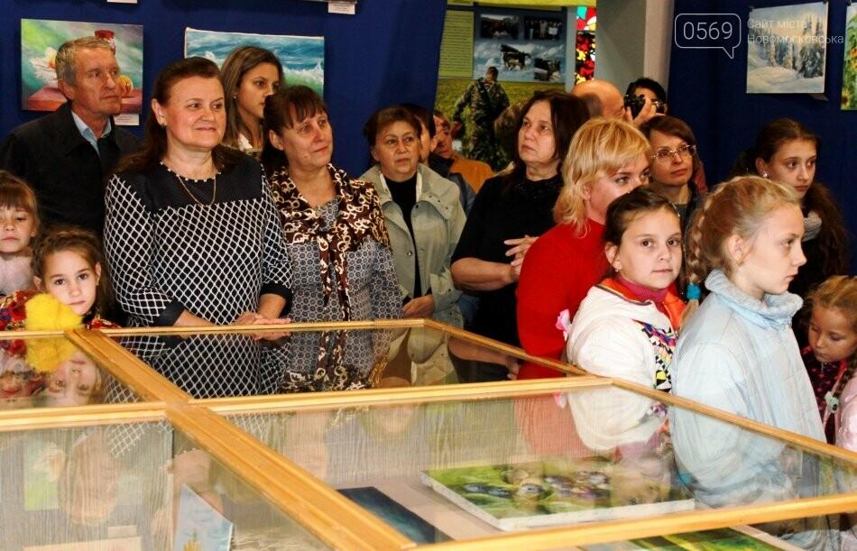 У Новомосковському музеї відкрилася виставка художніх робіт (фото), фото-2