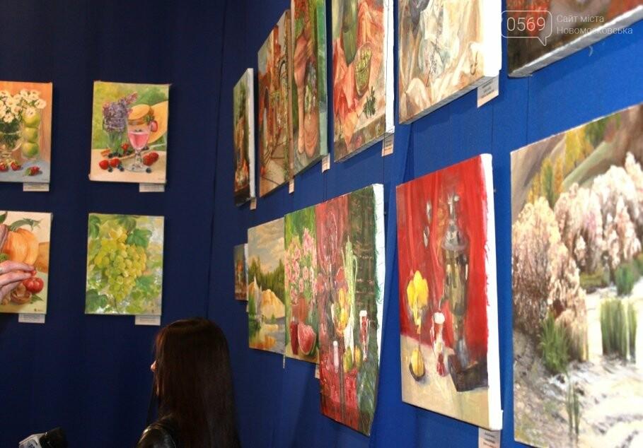 У Новомосковському музеї відкрилася виставка художніх робіт (фото), фото-9