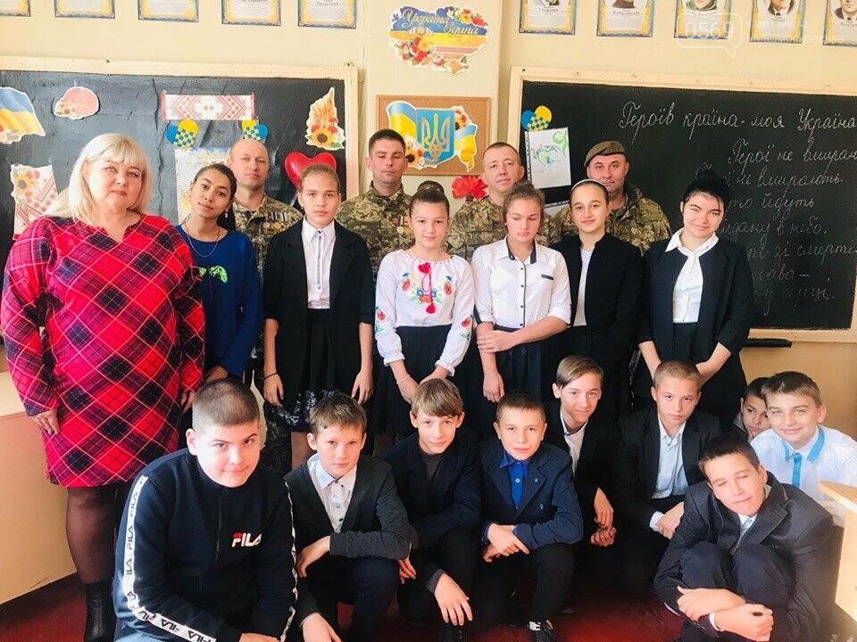 Школярі Новомосковська «із перших вуст…» почули про війну, фото-2