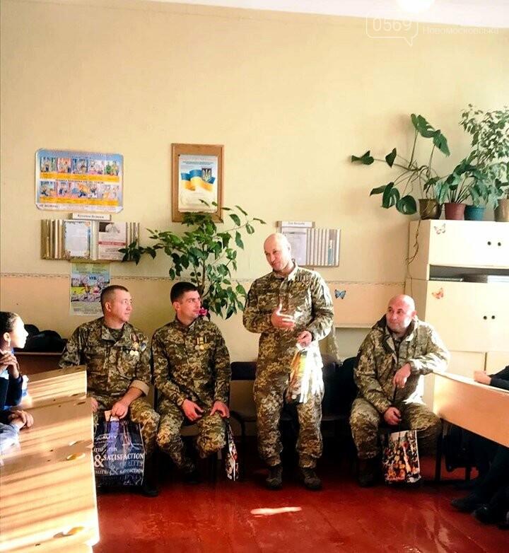 Школярі Новомосковська «із перших вуст…» почули про війну, фото-1