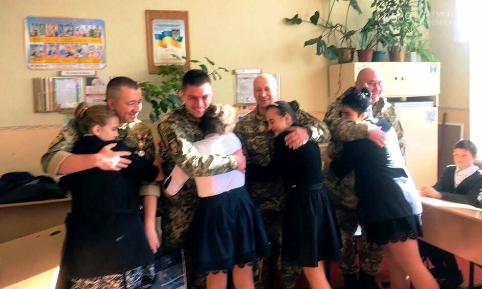 Школярі Новомосковська «із перших вуст…» почули про війну, фото-3