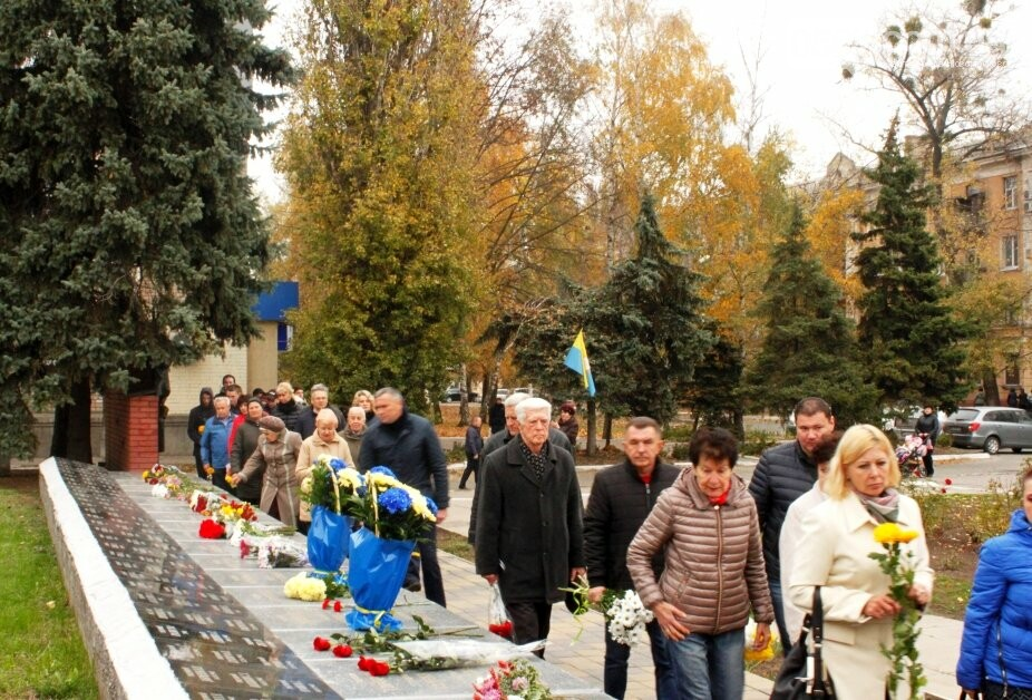 Новомосковці вшанували пам'ять загиблих у Другій світовій війні, фото-7