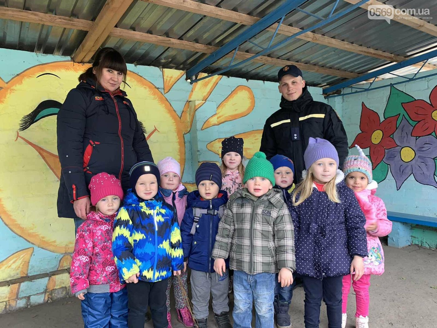 Рятувальники Новомосковська провели профілактичну бесіду з малятами одного з садочків міста, фото-3