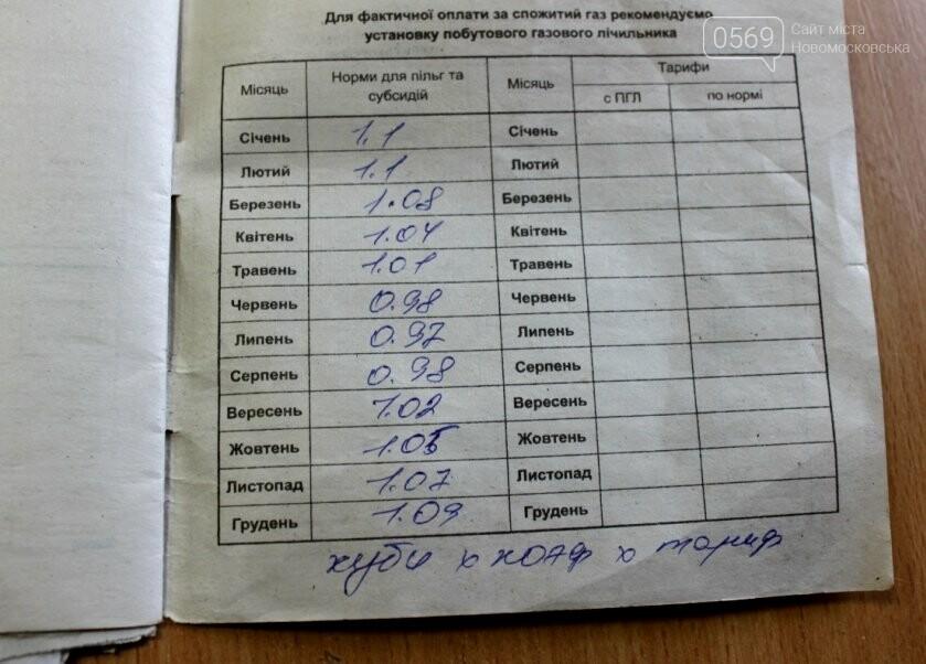 За борг трохи більше тисячі гривень ветерану праці  з Новомосковського району відрізали газ, фото-4