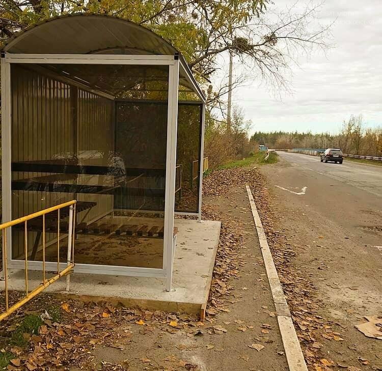 В Піщанській ОТГ за допомогою програми DOBRE реалізували проект «Мережа зупинок», фото-2