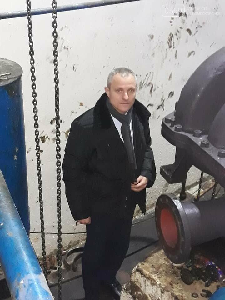 На водозабір в Перещепине доставили новий насос, який має забезпечити водою військові містечка, фото-1