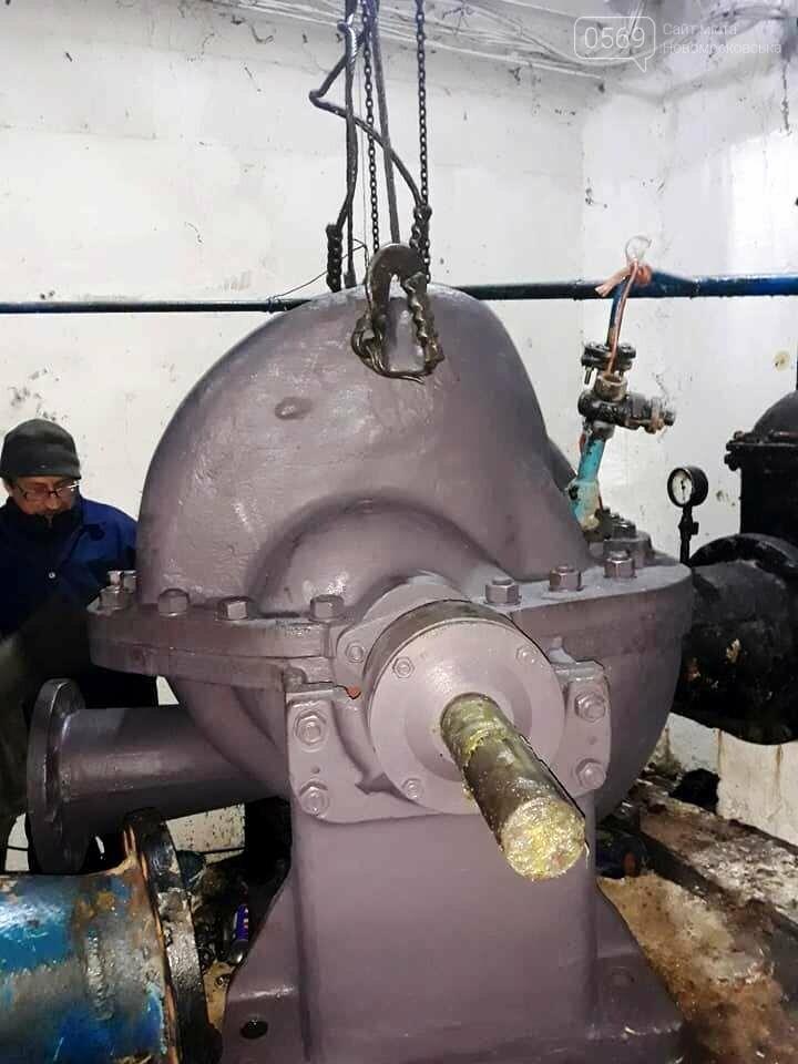 На водозабір в Перещепине доставили новий насос, який має забезпечити водою військові містечка, фото-2