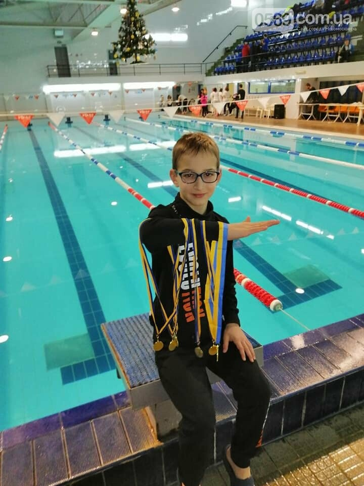 Семирічний пловець з  міста Новомосковська встановив абсолютний рекорд на Всеукраїнському турнірі, фото-1