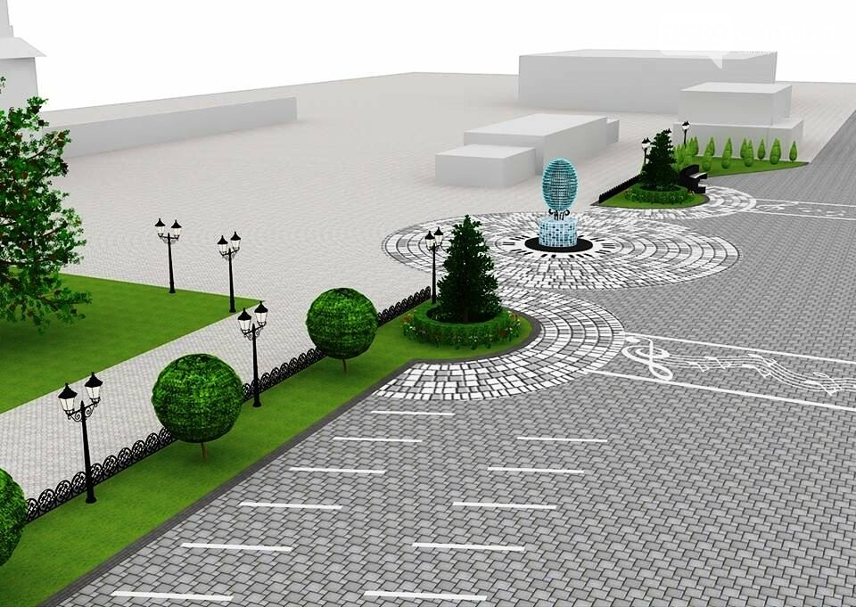 Наступного року в Новомосковську планують реконструювати площу Перемоги, фото-2