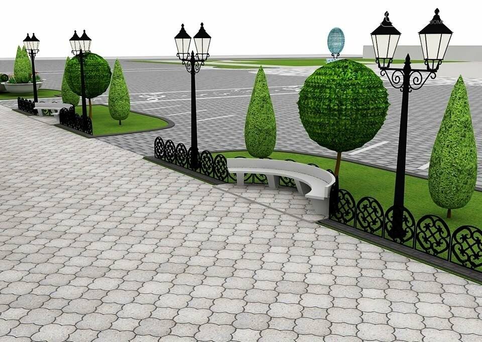 Наступного року в Новомосковську планують реконструювати площу Перемоги, фото-1