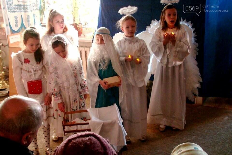 До свята Різдва у храмах та церквах Новомосковська відслужили Божественні літургії, фото-5