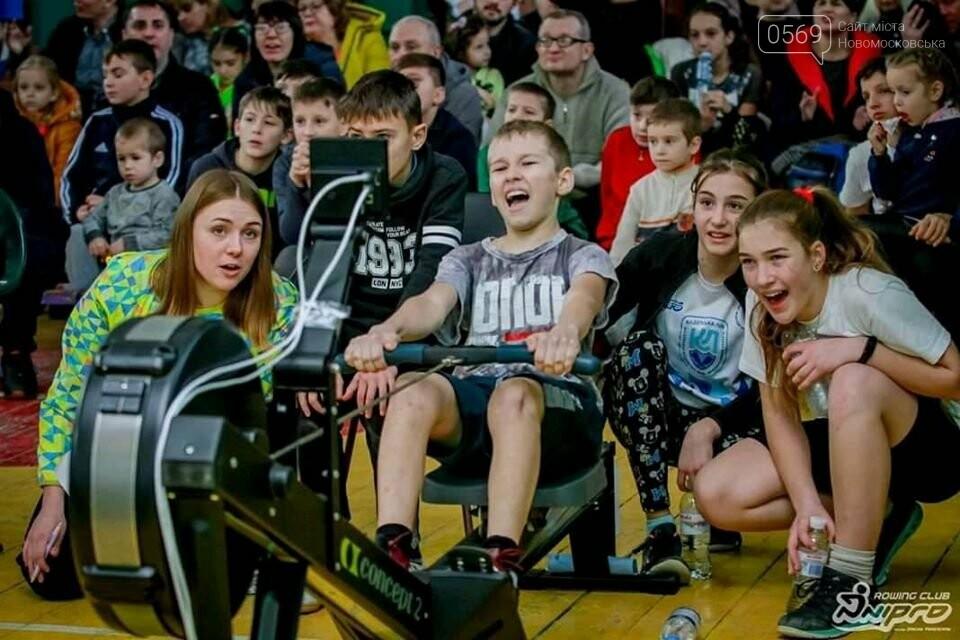У Новомосковську пройшов Відкритий чемпіонат міста з греблі на ергометрі, фото-3