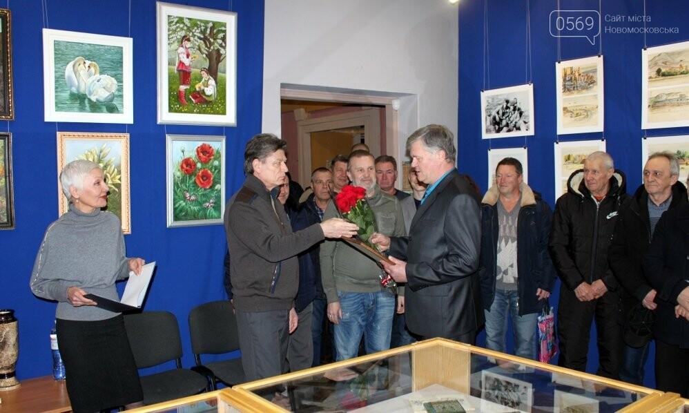 У Новомосковську відкрили персональну художню виставку учасника бойових дій в Афганістані, фото-8