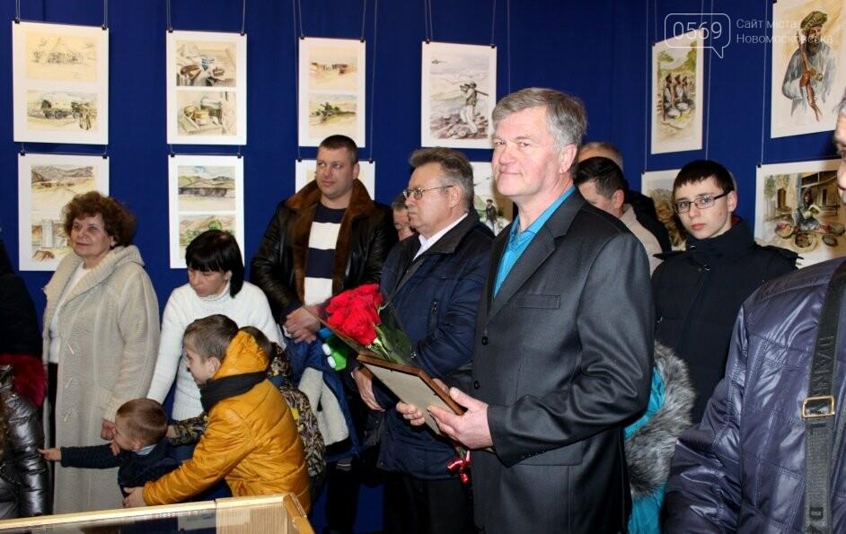 У Новомосковську відкрили персональну художню виставку учасника бойових дій в Афганістані, фото-7
