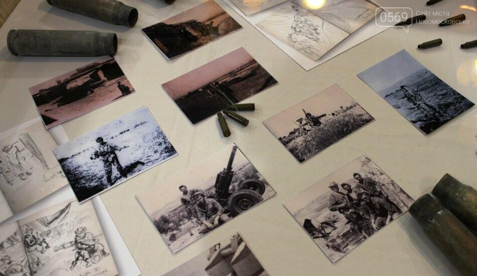 У Новомосковську відкрили персональну художню виставку учасника бойових дій в Афганістані, фото-5