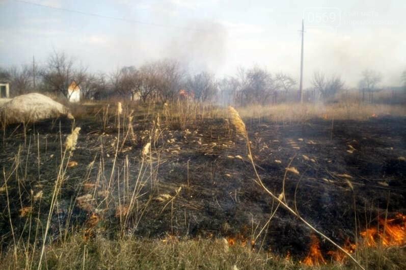 В Піщанській ОТГ вигоріло майже 5 гектарів сухостою: вогонь знищив і господарську споруду, фото-2