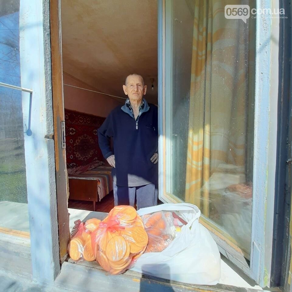 У Новомосковську літнім людям доставляють продуктові набори, ліки та засоби гігієни, фото-2