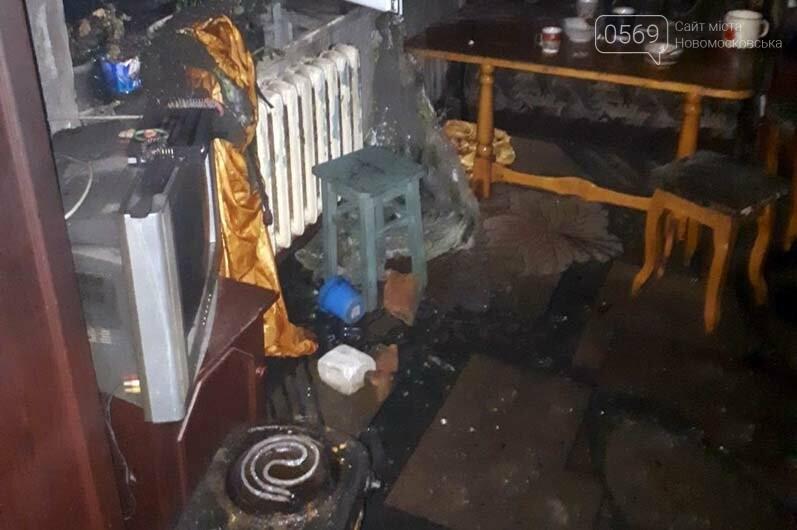 У Новомосковському районі горіла оселя: серйозно постраждала дитина, фото-1
