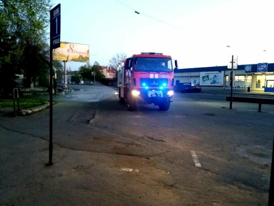 Надзвичайники Новомосковська вкотре провели роботу з дезінфікування вулиць міста, фото-1