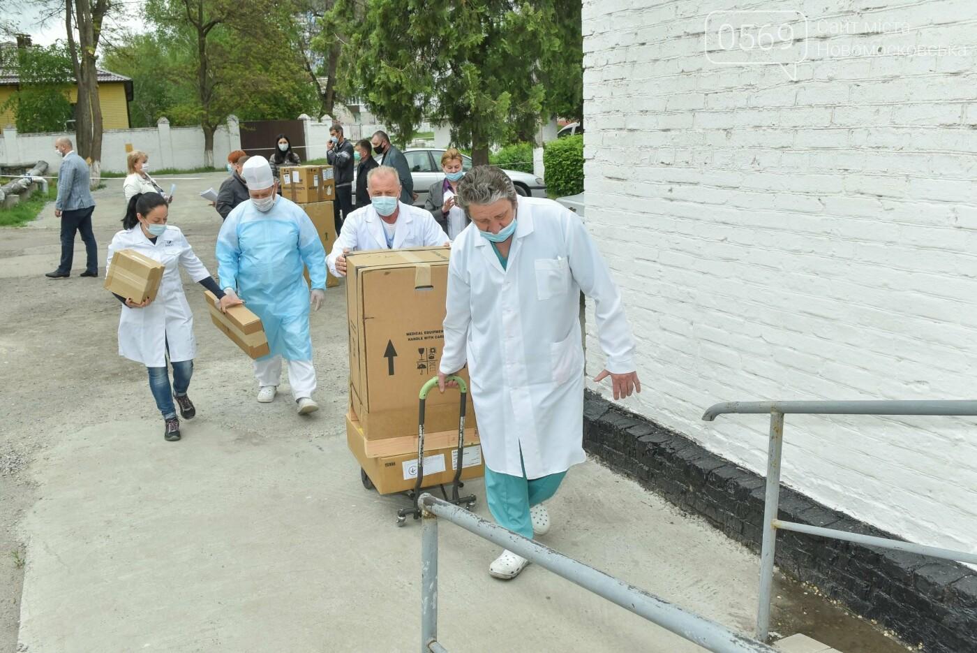 ИНТЕРПАЙП передал аппарат искусственной вентиляции легких Новомосковской центральной городской больнице , фото-5