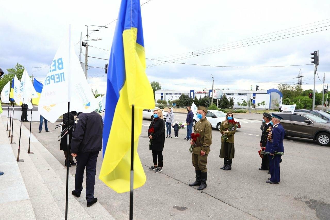 Вилкул в честь 9 Мая организовал в Днепре масштабный автопробег, фото-15