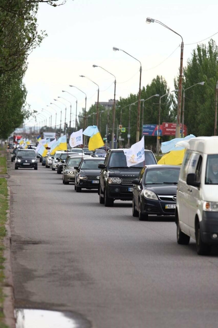 Вилкул в честь 9 Мая организовал в Днепре масштабный автопробег, фото-16