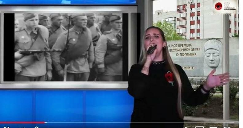 Діячі культури Новомосковська підготували концерт до Дня Перемоги: ВІДЕО, фото-2