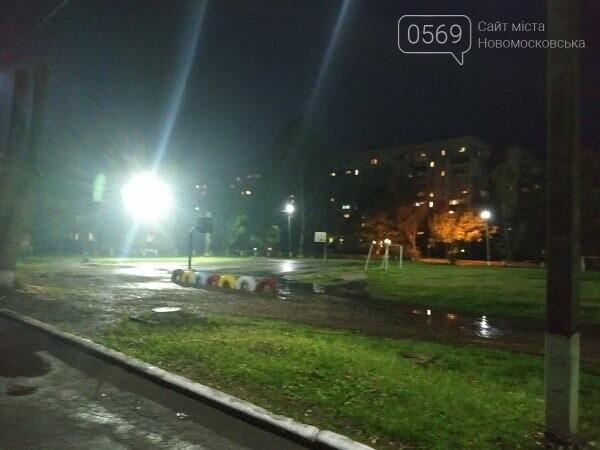 На стадіоні школи № 6 Новомосковська з'явилося світло: черговий проект «Бюджету участі» втілено в життя , фото-1