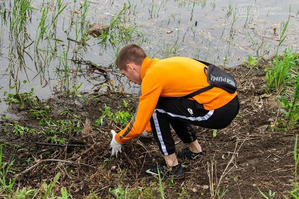 Останніми вихідними весни молодь Новомосковська вийшла на суботник, фото-4