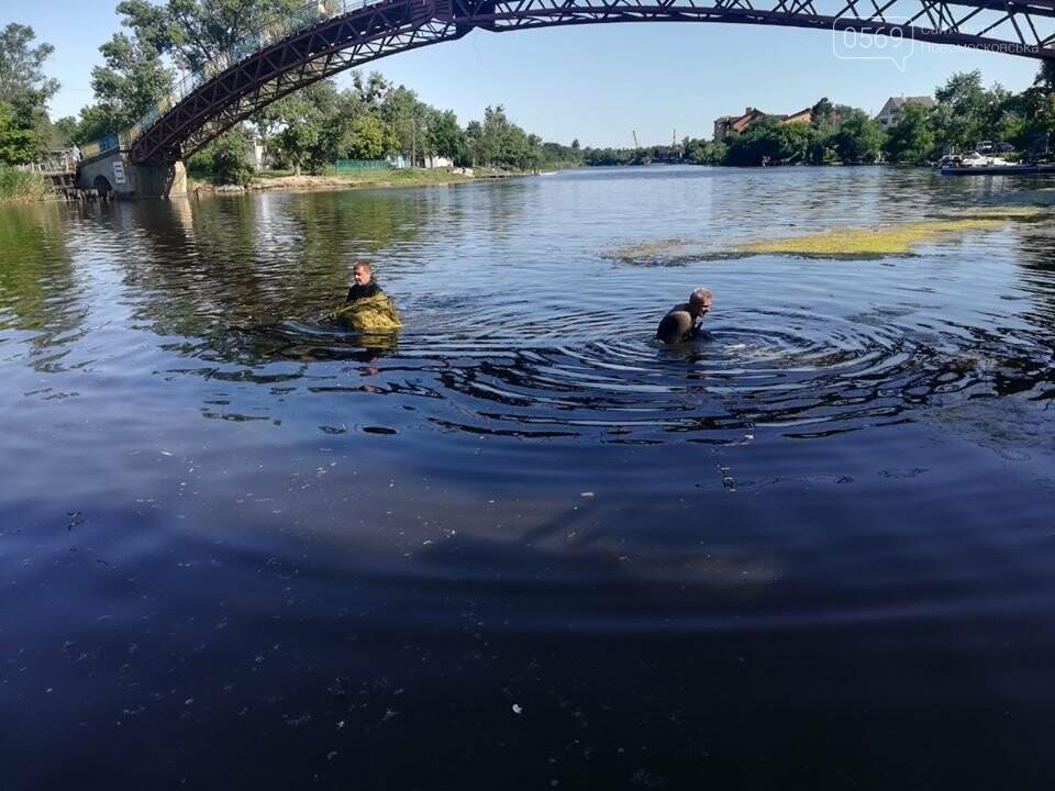 Береги річки Самари, в межах міста Новомосковська, почистять від тіни та водоростей, фото-1