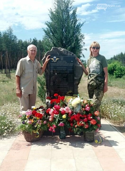 Шість років подвигу: як на Ямпільському перехресті вшанували загиблих Героїв з Новомосковщини, фото-5