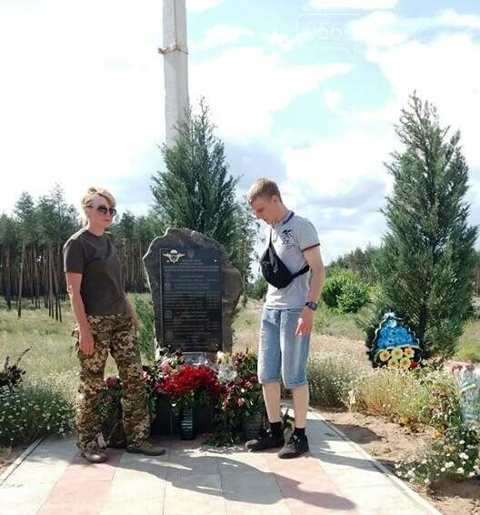 Шість років подвигу: як на Ямпільському перехресті вшанували загиблих Героїв з Новомосковщини, фото-18
