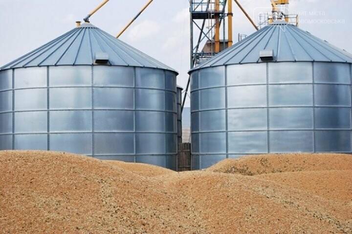 На Новомосковщині прийняти зерно нового врожаю вже готові 12 механізованих токів, фото-1
