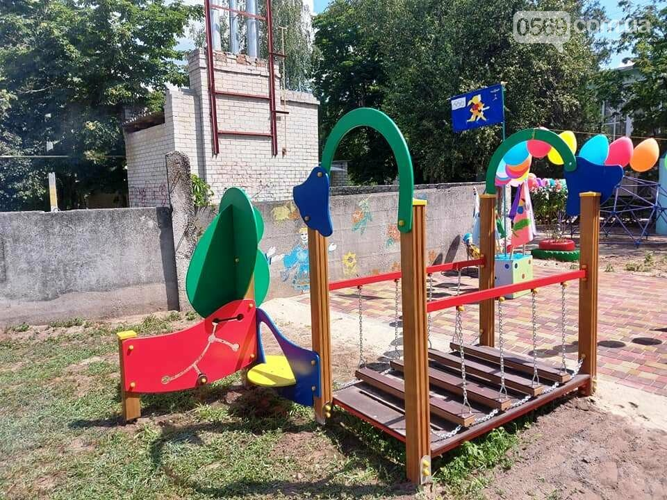 В одному з дитсадочків Новомосковська з'явилася сучасна спортивна площадка, фото-2