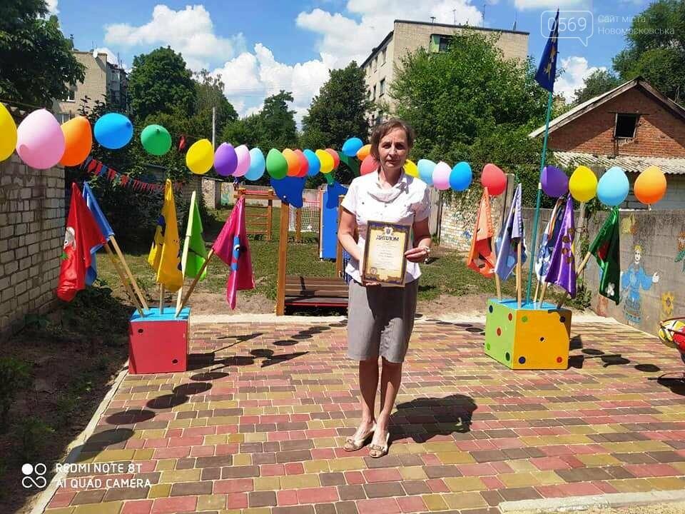 В одному з дитсадочків Новомосковська з'явилася сучасна спортивна площадка, фото-5