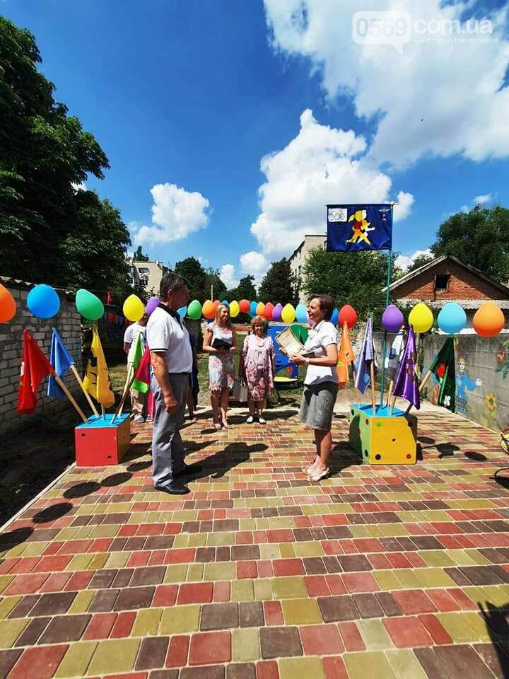 В одному з дитсадочків Новомосковська з'явилася сучасна спортивна площадка, фото-1