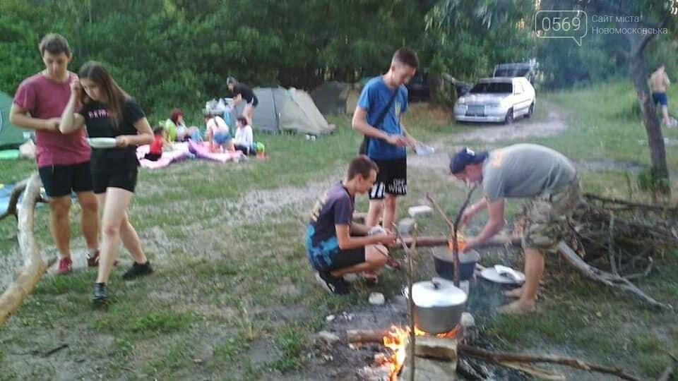На Новомосковщині пройшов перший літній екотабір Summer camp '20, фото-5